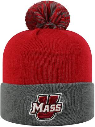 Top of the World Adult UMass Minutemen Pom Knit Hat