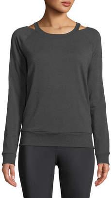 Beyond Yoga Sedona Cutout Crewneck Pullover Sweatshirt