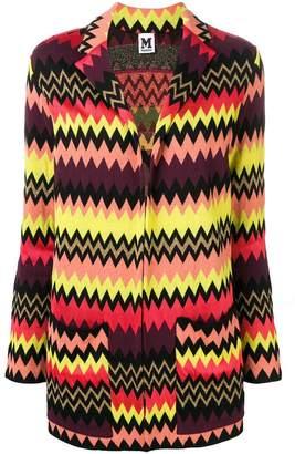 M Missoni zigzag cardigan-blazer