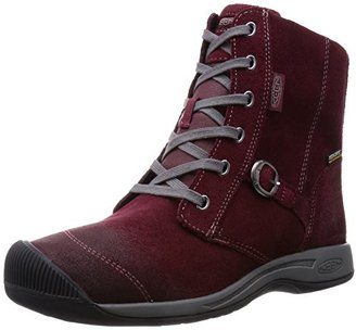 KEEN Women's Reisen Zip WP Winter Boot $150 thestylecure.com