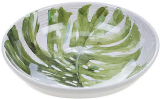 Certified International Palm Leaves 13In Serving/Pasta Bowl