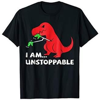 T-rex Dinosaur I Am Unstoppable T-shirt