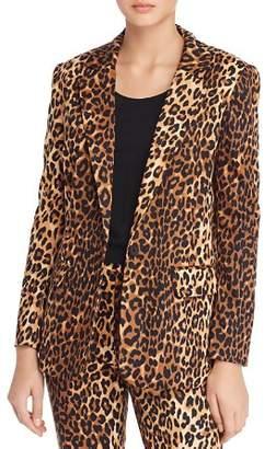 Lucy Paris Nahla Leopard Print Blazer