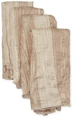 Ann Gish Awning Stripe Silk Napkins (Set of 4)