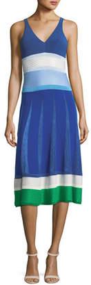 Agnona Cashmere and Viscose Knit Dress