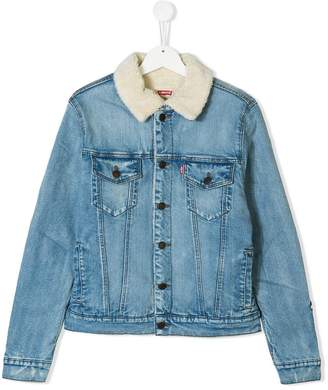 Levi's Kids TEEN trucker denim jacket
