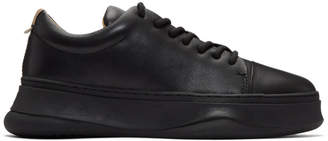 Miharayasuhiro Black Low-Cut Sneakers
