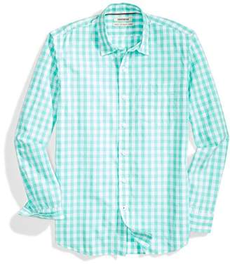 Goodthreads Men's Standard-Fit Long-Sleeve Large-Scale Gingham Shirt