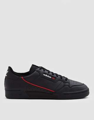 adidas Continental 80 Sneaker in Core Black