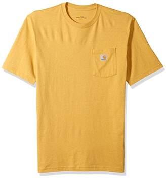 Carhartt Men's Big and Tall Big & Tall K87 Workwear Pocket Short Sleeve T Shirt, Large