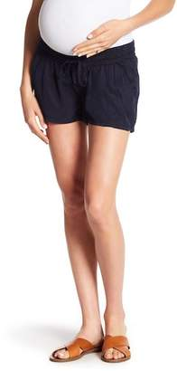 Blank NYC BLANKNYC Denim Solid Shorts (Maternity)