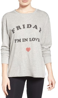 Women's The Laundry Room Friday Love Tee $66 thestylecure.com