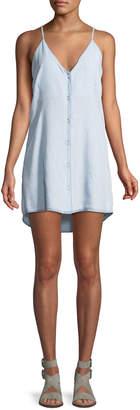 DL1961 Dl 1961 Minetta Button-Front Slip Tank Dress