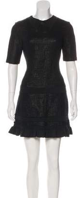 Kenzo Short Sleeve Mini Dress