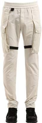 Nylon Holster Pockets Pants