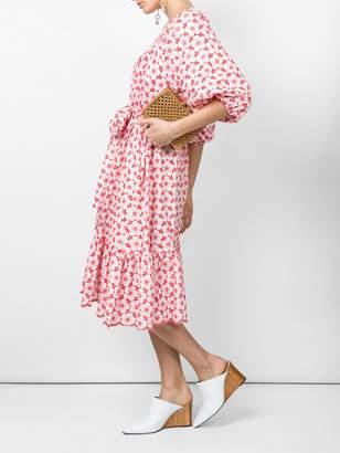 Lisa Marie Fernandez Laure midi eyelet dress