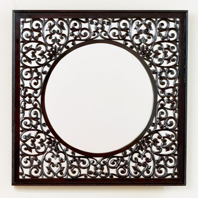 Indira Carved Mirror