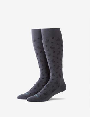 Tommy John Paisley Stay-Up Dress Sock
