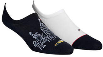 Tommy Hilfiger Two-Pack NYC No-Show Socks