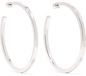 Jennifer Fisher Shane Silver Plated Hoop Earrings One Size