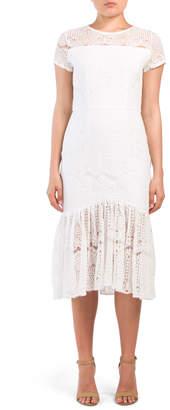 ADI Vone Lace Midi Dress