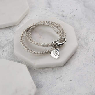 Oh So Cherished Heart St Christopher Wrap Wristband