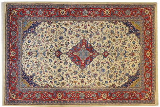 "One Kings Lane Vintage Persian Sarouk - 6'9"" x 4'8"" - R. Banilivi and Son"