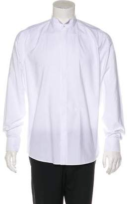 Lanvin Button-Up Tuxedo Dress Shirt w/ Tags