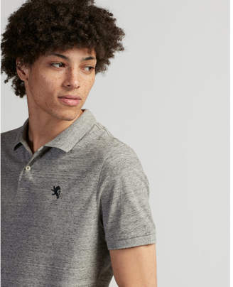 Express textured nep small lion polo