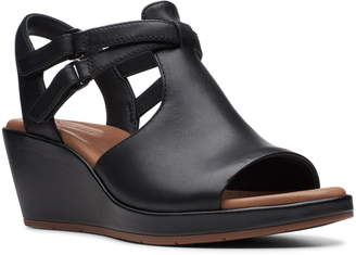 f0249aa6a30 Clarks Wedge Women s Sandals - ShopStyle