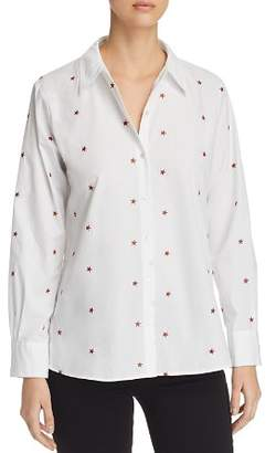 Scotch & Soda Star Embroidered Top