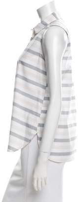 Steven Alan Sleeveless Crossover Top