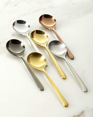 Mepra Due Assorted Coffee Spoons, Set of 6