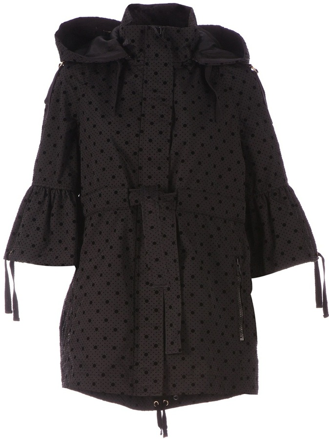 RED Valentino hooded dot jacket