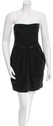 See by Chloe Pleated Mini Dress