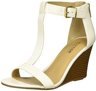Kenneth Cole Reaction Women's 7 Ava Crave T-Strap Wedge Sandal