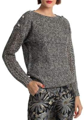 Trina Turk Cocktail Soiree Salty Dog Sweater