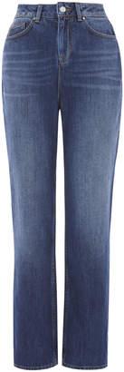 Karen Millen High-Waisted Blue Jean