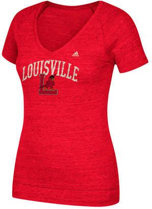 adidas Women's Louisville Cardinals Vintage Vault Arch T-Shirt