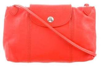 Longchamp Leather Crossbody Bag