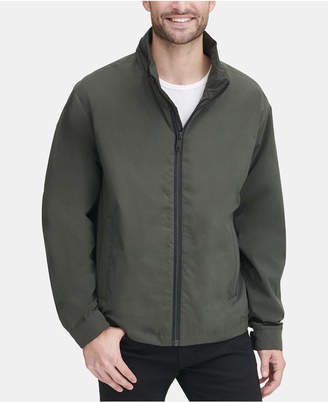DKNY Men Lightweight Water Resistant Bomber Jacket