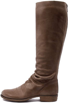 EOS Wildos-w Taupe Boots Womens Shoes Casual Long Boots