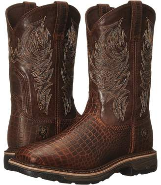 Ariat Workhog Wide Square Toe Men's Work Boots