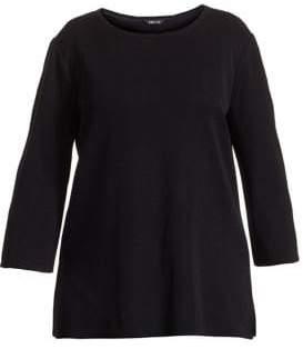 Misook Misook, Plus Size Tailored-Fit Sleeveless Tunic
