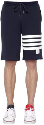 Intarsia Stripes Cotton Shorts $540 thestylecure.com