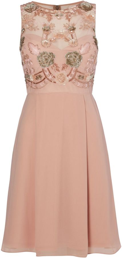 Blush Cocktail Dress - ShopStyle Australia