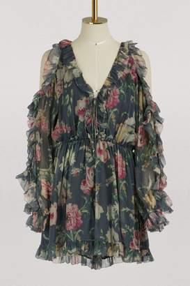 Zimmermann Iris silk jumpsuit