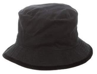 Hermes Chapeaux Motsch x Woven Bucket Hat