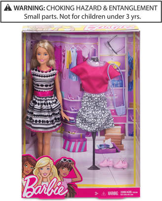 Barbie Mattel Doll & Fashion Set