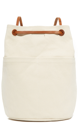 Madewell Canvas Rucksack $68 thestylecure.com